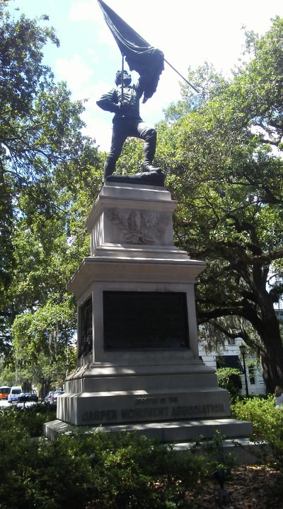 another savannah monument