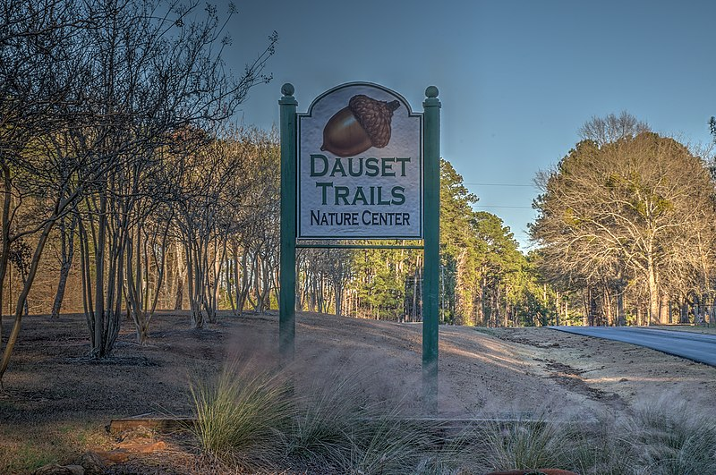 Dauset Trails Sign