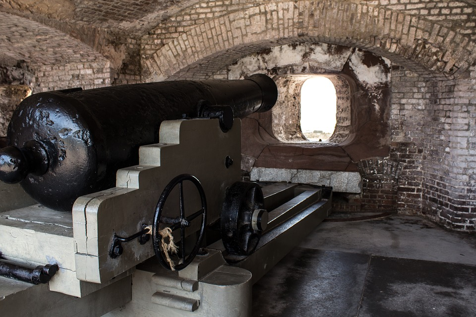 cannon at fort sumter