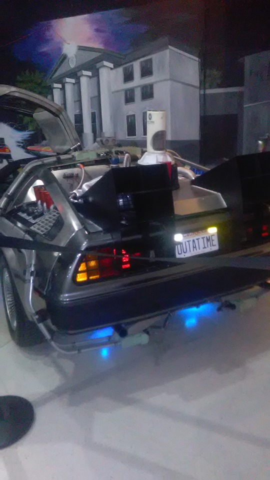 DeLorean from BTTF