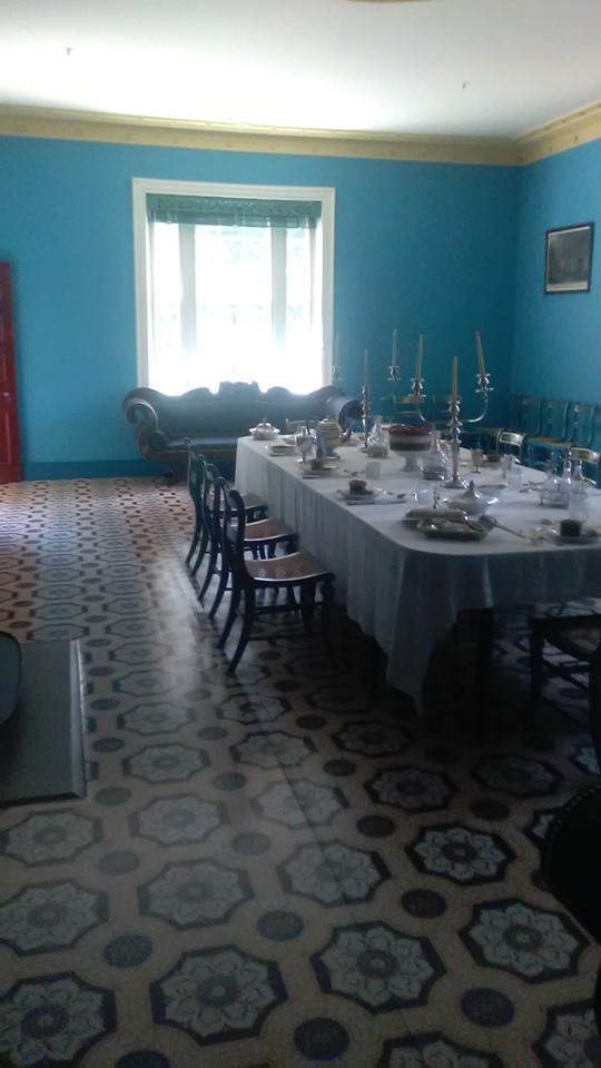 Hermitage dining room