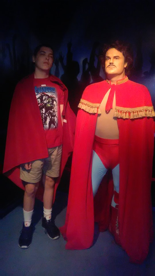 Joshua and Jack Black wax figure