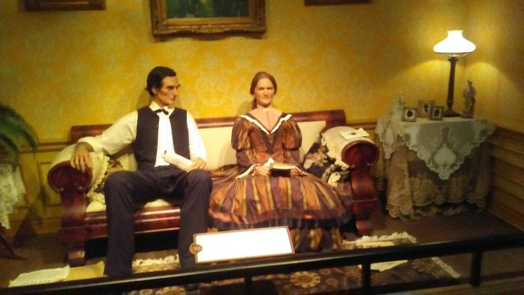 Lincoln courting Mary