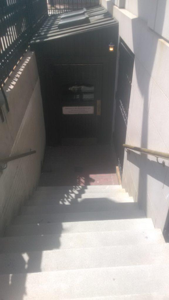 Door of Cheers Bar